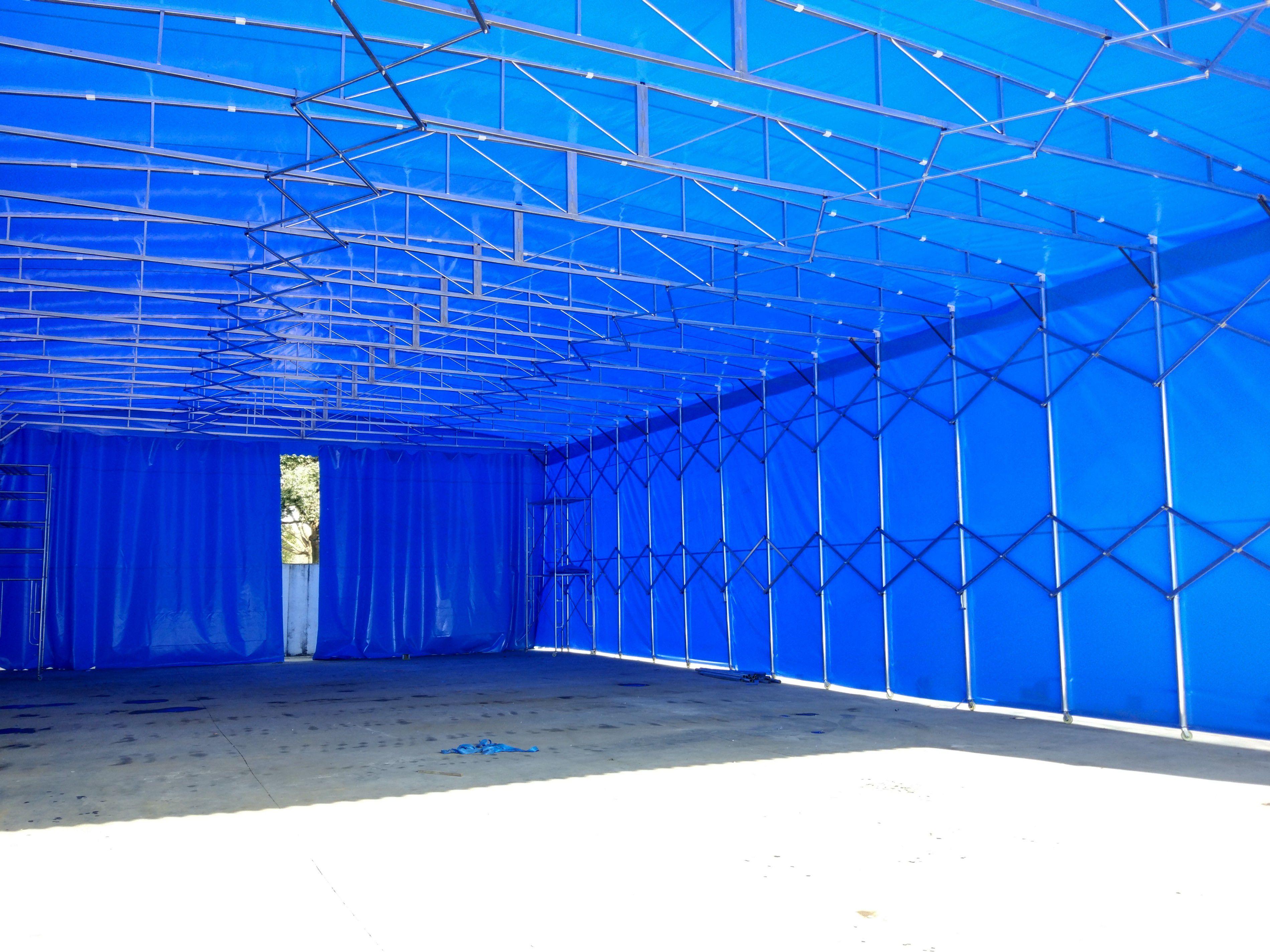 霍州大型仓库雨篷
