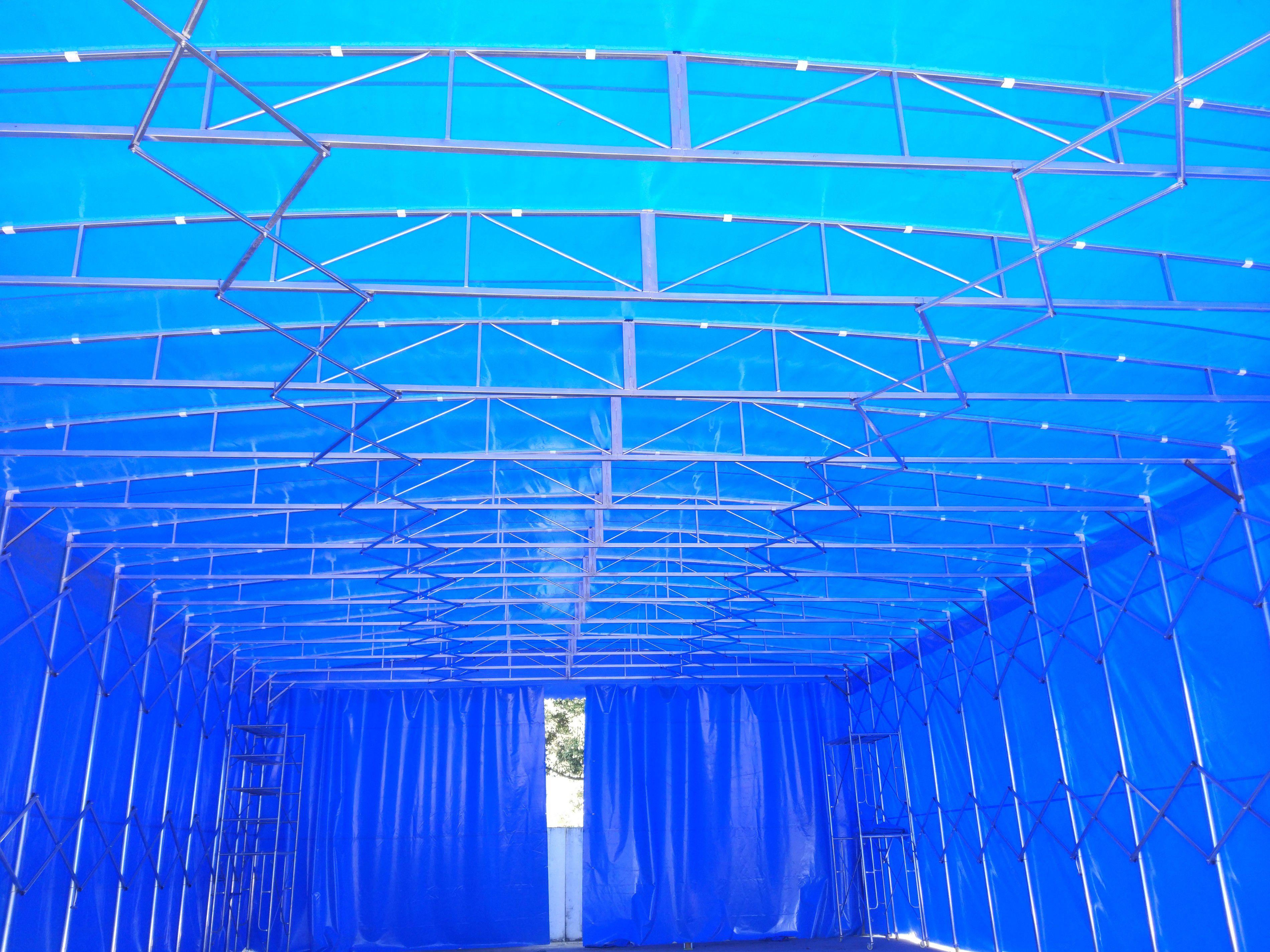 蓬溪大型仓库雨篷